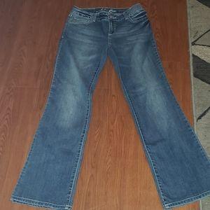 INC Denim Boot leg Curvy fit size 4 short jeans